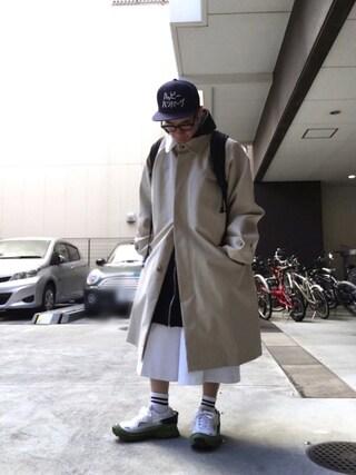 「adidas by RAF SIMONS ハイテクスニーカー(RAF SIMONS)」 using this Satoru looks