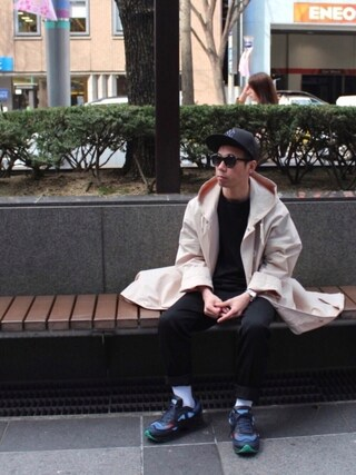 「Valentino Crew neck silk-organza T-shirt(Valentino)」 using this Satoru looks