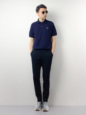 ZOZOTOWN|タレスさんのポロシャツ「『L.12.12』定番半袖ポロシャツ(