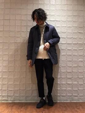 Lui's ルミネエスト新宿店|kasai satoruさんの(STAMMBAUM|シュタンバーム)を使ったコーディネート