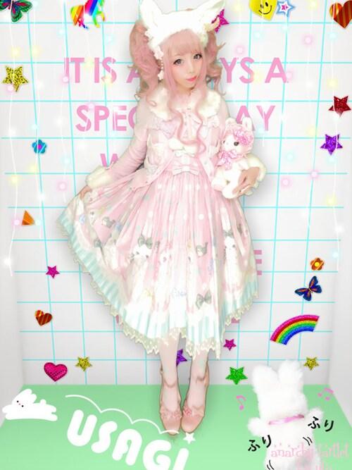 うつぎさんの「ワンピース(Angelic Pretty)」を使ったコーディネート