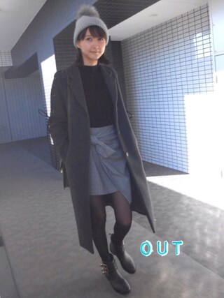 「Albany chester coat(LAYMEE)」 using this 美優 looks
