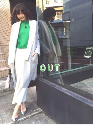「BEL&Coコート <made in ITALY>(DOUBLE STANDARD CLOTHING)」 using this 美優 looks
