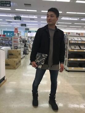 tsu→さんの(LOUNGE LIZARD|ラウンジリザード)を使ったコーディネート