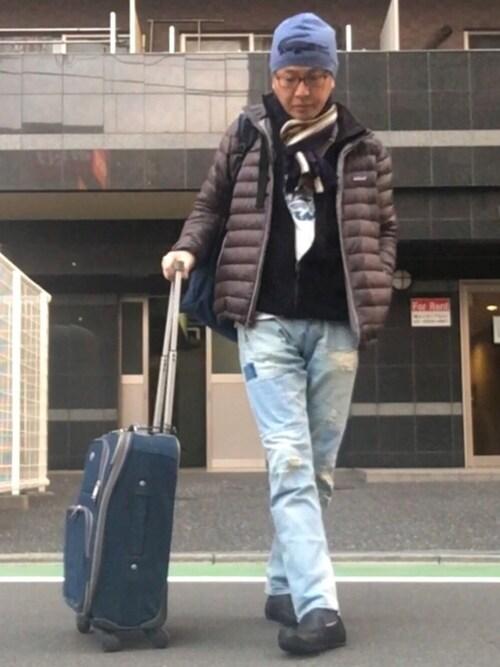 HiRo🇺🇸|patagoniaのダウンジャケット/コートを使ったコーディネート , WEAR