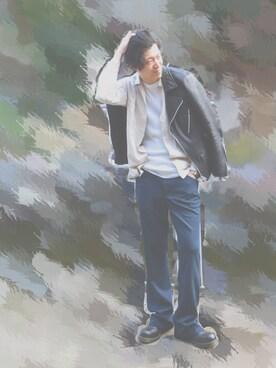 MASAKI  HATTORIさんの(nano・universe|ナノユニバース)を使ったコーディネート