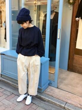 doux bleu 吉祥寺店|douxbleu吉祥寺店さんの(doux bleu)を使ったコーディネート
