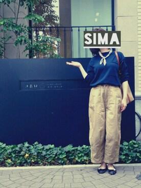 SIMAさんの(Needles|ニードルス)を使ったコーディネート