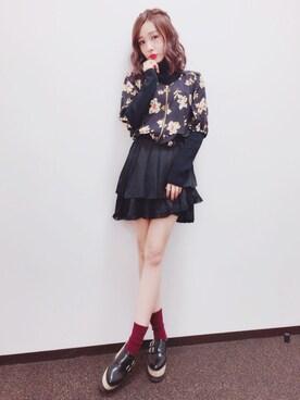 前田希美さんの(MICOAMERI|ミコアメリ)を使ったコーディネート