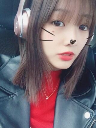 「ライダース/ジャケット-2016AW(INGNI)」 using this 前田希美 looks