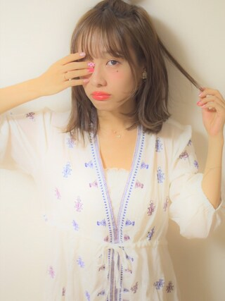 (11AM) using this 前田希美 looks
