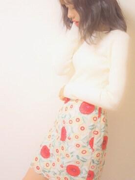 前田希美さんの(MIIA|ミーア)を使ったコーディネート