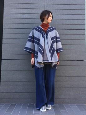 EN ROUTE FUTAKOTAMAGAWA R.Morosawaさんの(muller of yoshiokubo ミュラー オブ ヨシオクボ)を使ったコーディネート