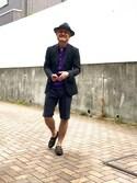 (Panama Hat) using this 田中 正 looks