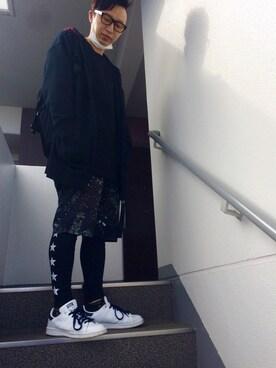 maruさんの(adidas アディダス)を使ったコーディネート