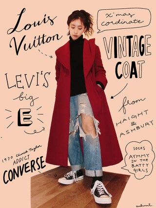 「Levi's 501 CT Jeans Collector's Edition 501 Cone Selvedge Jeans(Levi's)」 using this 中田クルミ looks