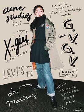中田クルミさんの(G.V.G.V.|ジーヴィジーヴィ)を使ったコーディネート