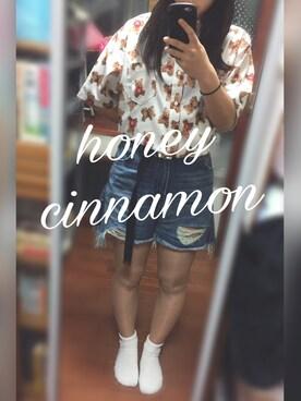 i☺︎さんの(Honey Cinnamon|ハニーシナモン)を使ったコーディネート