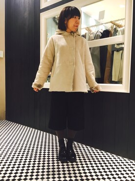 everyday by collex 渋谷ヒカリエシンクス|ちばさんの(MYSELF ABAHOUSE|マイセルフアバハウス)を使ったコーディネート