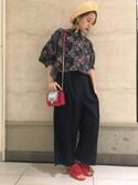 saki enomotoさんの「KIJIMA TAKAYUKI ベレー帽(KIJIMA TAKAYUKI|キジマ タカユキ)」を使ったコーディネート