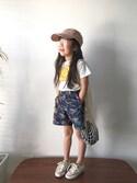 nanaさんの「FILT社のネットバッグ ホワイト /  Filt Net Bag 220(TODAY'S SPECIAL|トゥデイズスペシャル)」を使ったコーディネート