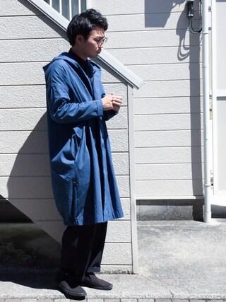 ひろむさんの「【my beautiful landlet】   cotton food light coat(my beautiful landlet|マイビューティフルランドレット)」を使ったコーディネート