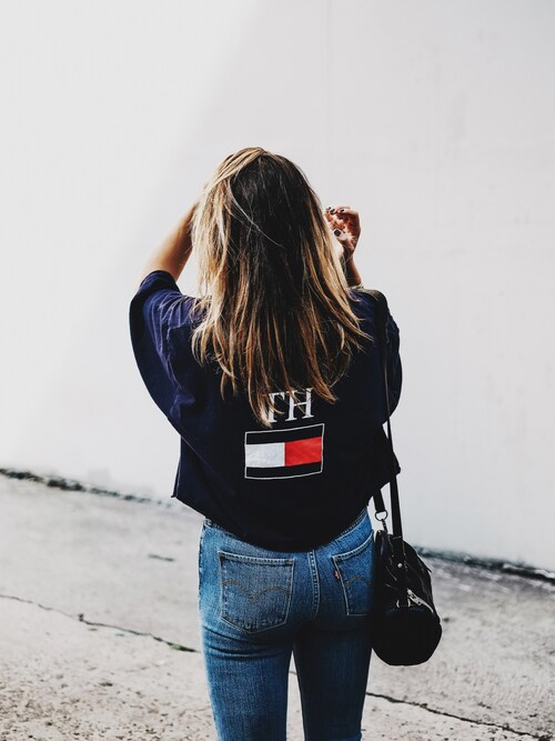 (TOMMY HILFIGER) using this Bethany Marie looks