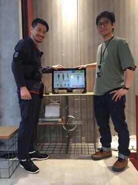 DESCENTE BLANC MARUNOUCHI|MASATOSHIKOMORIさんのパンツ「PACKABLE PANTS/パッカブルパンツ(DESCENTE|デサント)」を使ったコーディネート