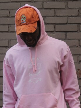 AU79SOCIAL Hoodies「GoldBill$ 」Styling looks