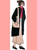 YUINA 🐻🍎さんの「マルシェバッグ / Marche Bag(TODAY'S SPECIAL|トゥデイズスペシャル)」を使ったコーディネート