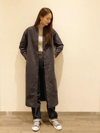 秦まり子さんの「EARRING(petite robe noire|プティ ローブ ノアー)」を使ったコーディネート