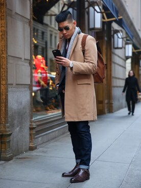 「Ray-Ban Aviator Metal Sunglasses(Ray-Ban)」 using this Levitate Style looks