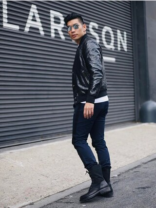 「Ray-Ban Metal Aviator Sunglasses(Ray-Ban)」 using this Levitate Style looks