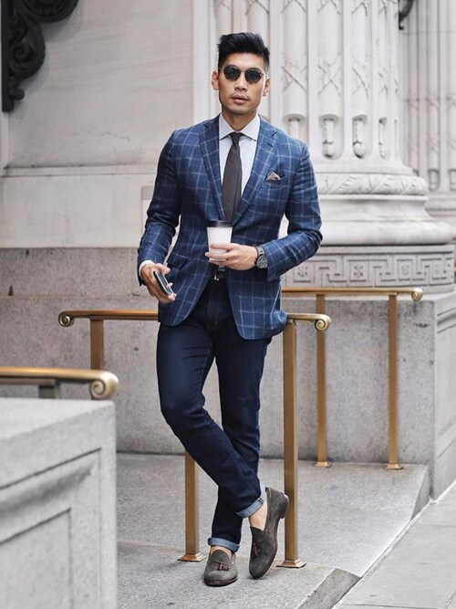 (BROOKS BROTHERS) using this Levitate Style looks