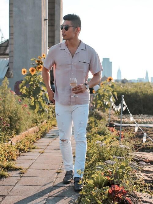 「Versace Aviator Sunglasses(Versace)」 using this Levitate Style looks