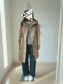 ♡MILK♡さんの「FLAP BACKPACK(バックパック/フラップ/ロゴ)(MILKFED.|ミルクフェド)」を使ったコーディネート