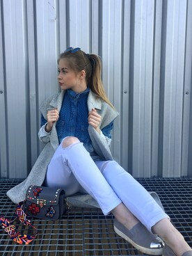 (ZARA) using this Anastasia 👑 looks