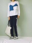 sachiさんの(adidas originals|パレットトーキョー)を使ったコーディネート