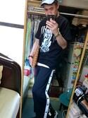 yoshio.🌠さんの「ドロップポケットカットソー(HARE)(HARE|ハレ)」を使ったコーディネート