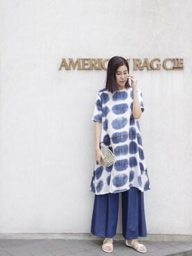 AMERICANRAGCIE(アメリカンラグシー)名古屋店|Shino Iwamotoさんの(AMERICAN RAG CIE|アメリカンラグ シー)を使ったコーディネート