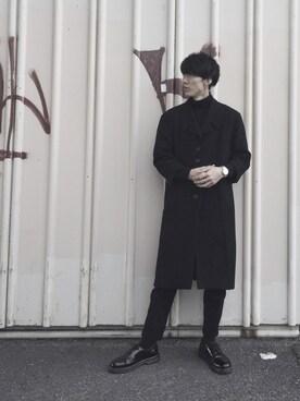 Takuro Matsumotoさんの(COMME CA DU MODE|コムサデモード)を使ったコーディネート