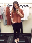 「Topshop Crepe Pocket Tee(Topshop)」 using this mikealaelise looks
