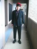 「ROTHCO ベレー帽(tk.TAKEO KIKUCHI)」 using this Saw1Low looks