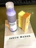 AZU⭐️さんの「<JASON MARKK> ESSENTIAL KIT/シューケア(JASONMARKK|ジェイソンマーク)」を使ったコーディネート