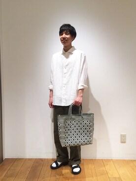 Bshop 神戸本店|tominagaさんのショルダーバッグ「メキシコ メルカドバッグ(Bshop|ビショップ)」を使ったコーディネート