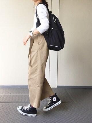 Chocorooさんの「【ORCIVAL】コットンロード フレンチバスクシャツ SOLID <16SS新入荷>(ORCIVAL|オーシバル)」を使ったコーディネート
