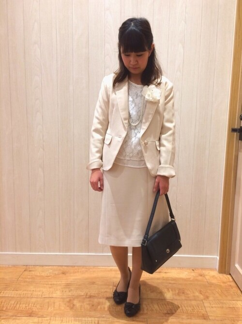 入学式 ママ コーデ