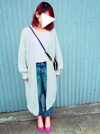 Mikakoさんの「≪追加予約≫ORIGINALシープスエードポインテッドパンプス◆(Spick & Span|スピック&スパン)」を使ったコーディネート