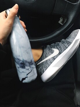 "Mackenzie Murphy is wearing Nike ""Nike Women's LunarEpic Low Flyknit Running Sneakers from Finish Line"""