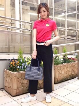 LACOSTE 三宮店|SENA YASUEDAさんの(LACOSTE|ラコステ)を使ったコーディネート